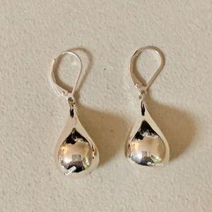 Designer RLM 925 Sterling Silver Teardrop Earrings